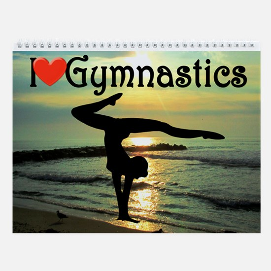 Gymnast Champion Wall Calendar