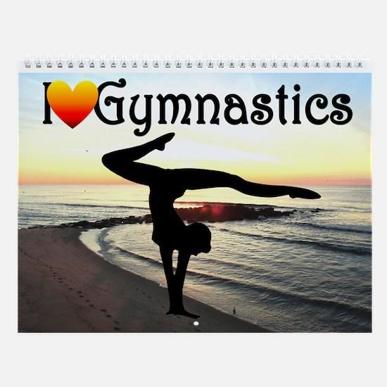 Inspiring Gymnast Wall Calendar