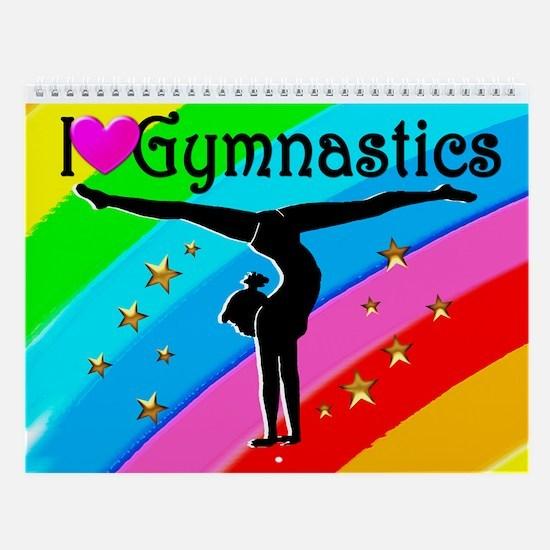 Dazzling Gymnast Wall Calendar