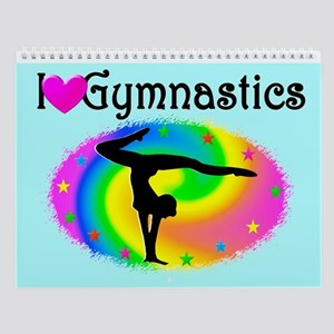 Gymnast Love Wall Calendar