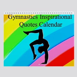 Inspired Gymnast Wall Calendar