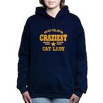 Worlds Craziest Women's Hooded Sweatshirt