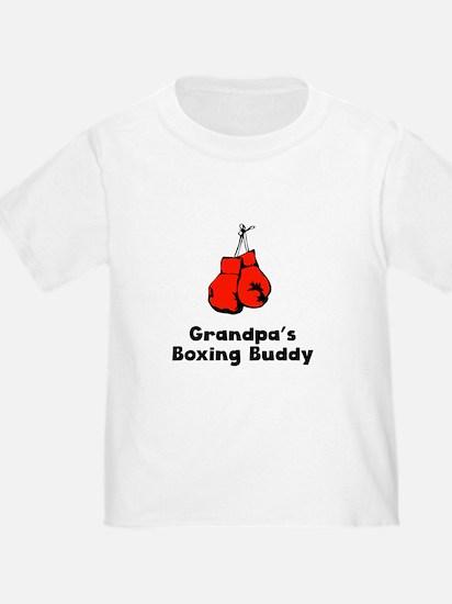 Grandpas Boxing Buddy T-Shirt