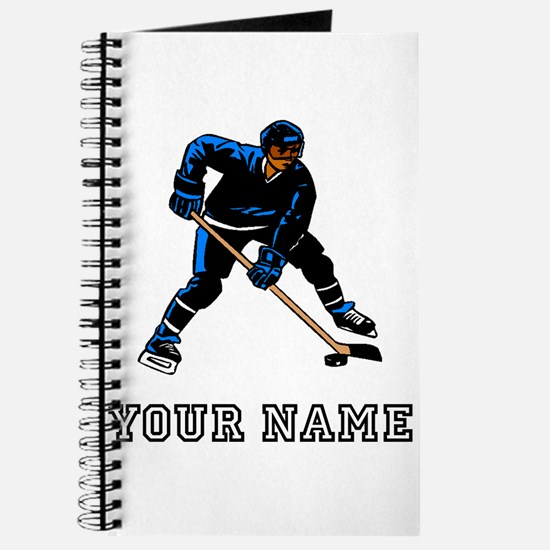 Hockey Player (Custom) Journal