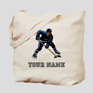 Hockey Player (Custom) Tote Bag