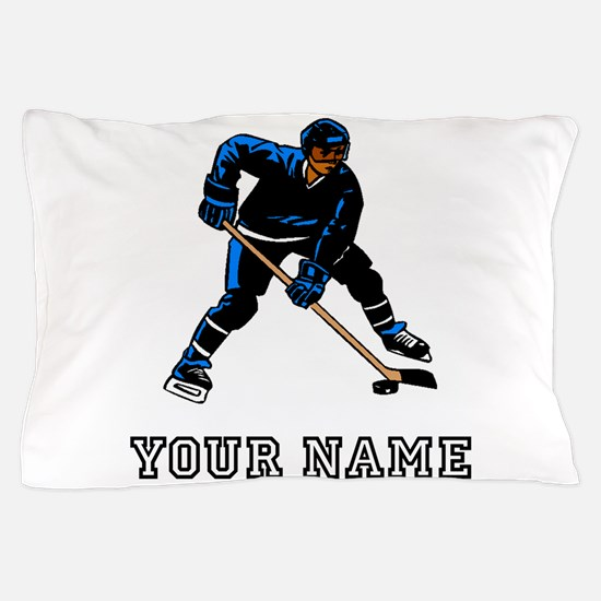 Hockey Player (Custom) Pillow Case
