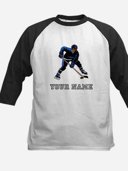 Hockey Player (Custom) Baseball Jersey