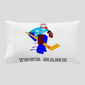 Hockey Goalie (Custom) Pillow Case