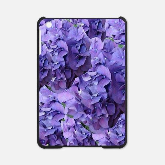 Purple Hydrangea Flowers iPad Mini Case