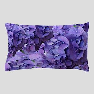 Purple Hydrangea Flowers Pillow Case