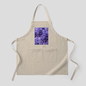 Purple Hydrangea Flowers Apron