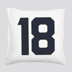 18 18th Birthday 18 Years Old Square Canvas Pillow