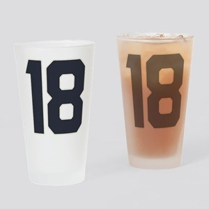 18 18th Birthday 18 Years Old Drinking Glass