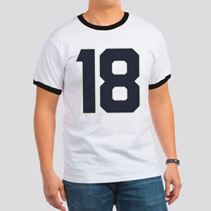 18 18th Birthday 18 Years Old Ringer T