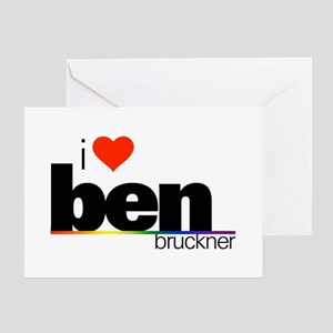 I Heart Ben Bruckner Greeting Card