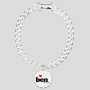 I Heart Ben Bruckner Charm Bracelet, One Charm