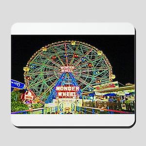 Coney Island's wonderous Wonder Wheel Mousepad