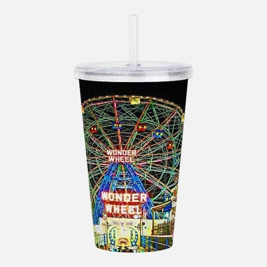 Coney Island's wondero Acrylic Double-wall Tumbler