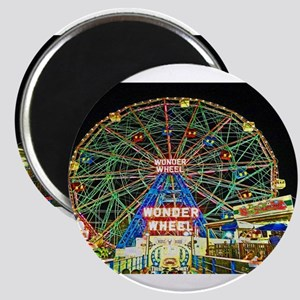 Coney Island's wonderous Wonder Wheel Magnets