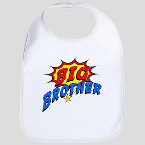 Big Brother Superhero Bib