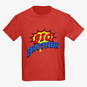 Big Brother Superhero Kids Dark T-Shirt