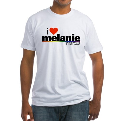 I Heart Melanie Marcus Fitted T-Shirt