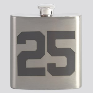 25 25th Birthday 25 Years Old Flask
