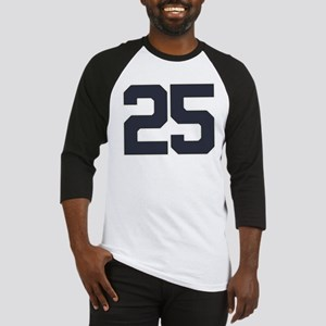 25 25th Birthday 25 Years Old Baseball Jersey