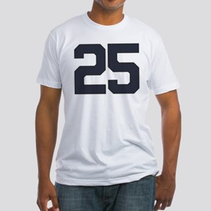 25 25th Birthday 25 Years Old Fitted T-Shirt