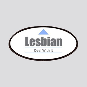 Lesbian - Deal With It Patch