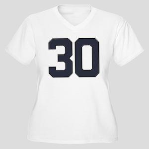 30 30th Birthday Women's Plus Size V-Neck T-Shirt