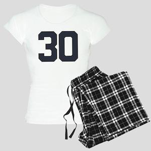 30 30th Birthday 30 Years O Women's Light Pajamas