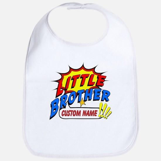 Little Brother Superhero Bib