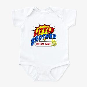 Little Brother Superhero Infant Bodysuit