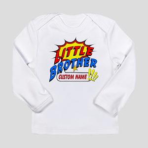 Little Brother Superher Long Sleeve Infant T-Shirt