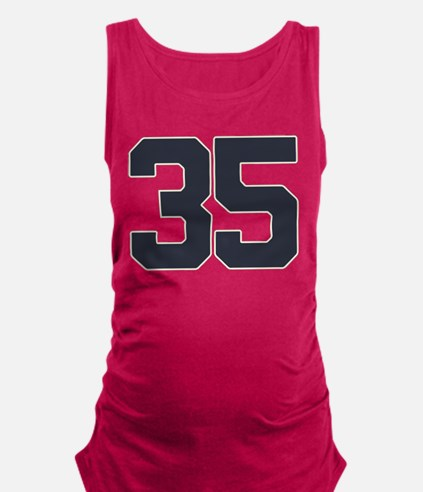 35 35th Birthday 35 Years Old Maternity Tank Top