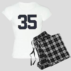 35 35th Birthday 35 Years O Women's Light Pajamas