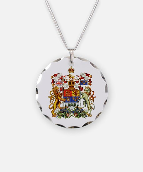 Canadian Royal Coat of Arms Necklace