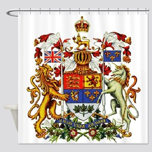 Canadian Royal Coat of Arms Shower Curtain