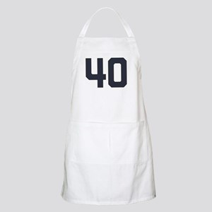 40 40th Birthday 40 Years Old Apron