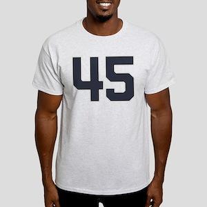 45 45th Birthday 45 Years Old Light T-Shirt