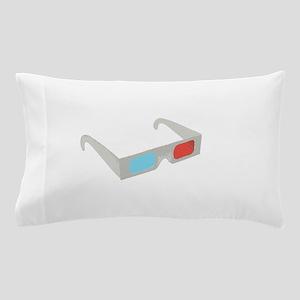 3d glasses Pillow Case