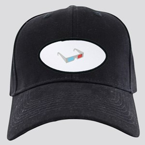 3d glasses Black Cap