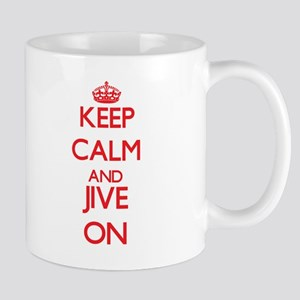 Keep Calm and Jive ON Mugs