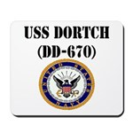 USS DORTCH Mousepad