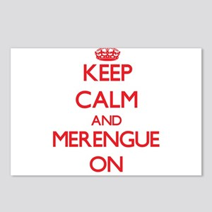 Keep Calm and Merengue ON Postcards (Package of 8)