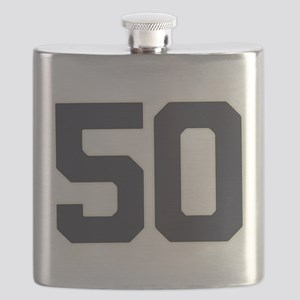 50 50th Birthday 50 Years Old Flask