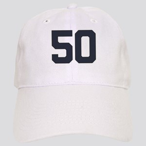 50 50th Birthday 50 Years Old Cap