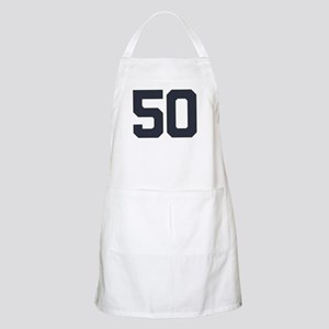 50 50th Birthday 50 Years Old Apron