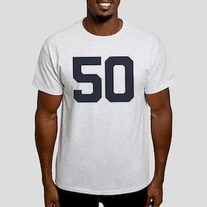 50 50th Birthday 50 Years Old Light T-Shirt